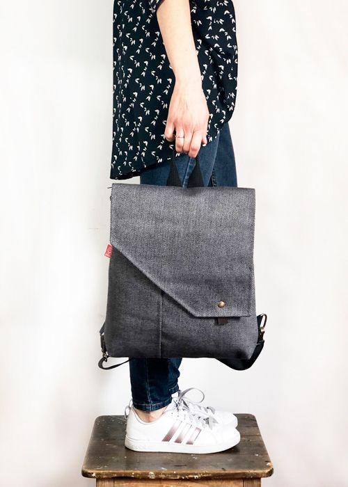 mochilas de tela handmade