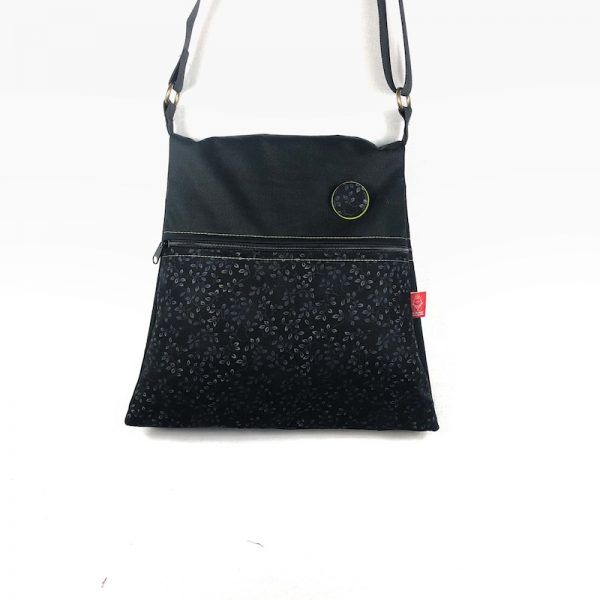 bolso tela reversible dark