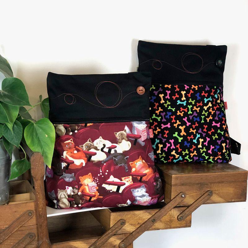 bolsos mochilas y riñoneras hechas a mano