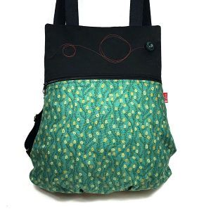 mochila tela handmade MBC04 bicha natacha
