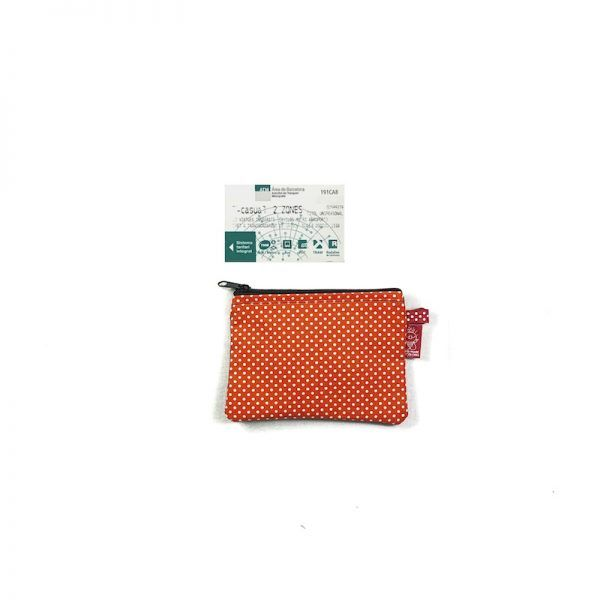 monedero kuki large orange
