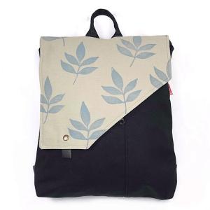 mochila de moda artesana hecha con material sostenible la bicha creativa Rosco ok