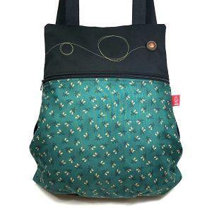 mochila de tela handmade MB034 bicha fantasy
