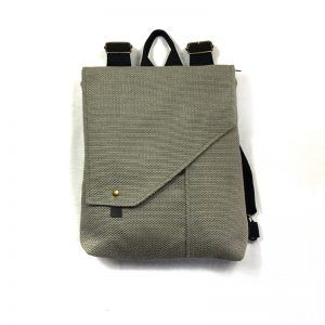 mochila sostenible rustic grey