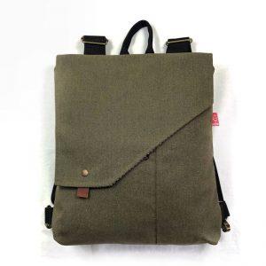 mochila sostenible sepia tint