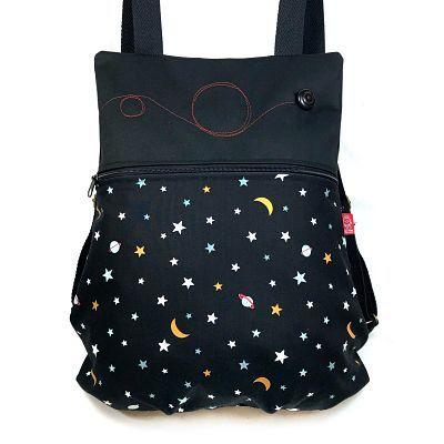 mochila tela handmade MB020 de mujer Deli