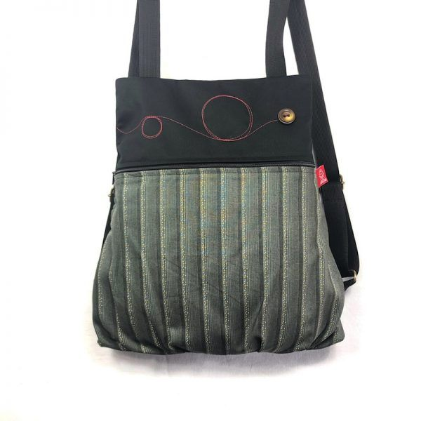 mochila tela handmade basic