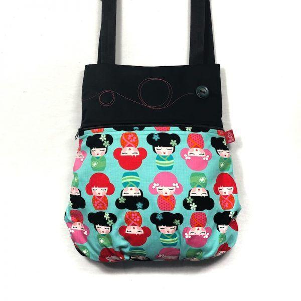mochila tela handmade kima