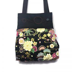 mochila tela handmade kioto