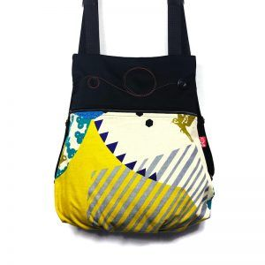 mochila tela handmade modern