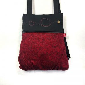 mochila tela handmade redtop