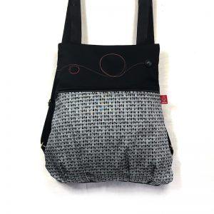 mochila tela handmade toposblack