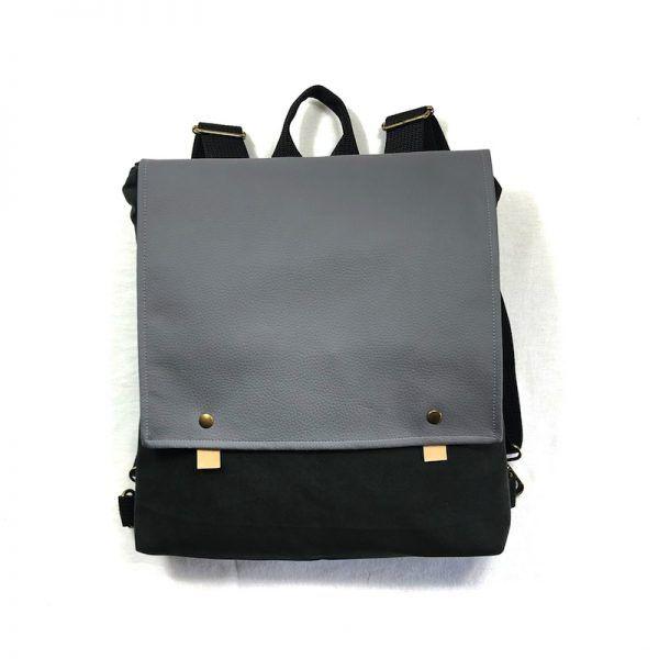 mochila eco handmade Black