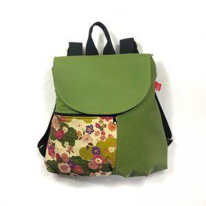 mochila eco handmade Garden