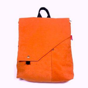 mochila bolso orange mnk057