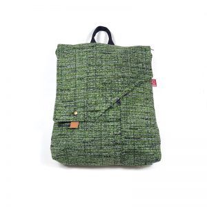 mochila bolso tela mint mnk048