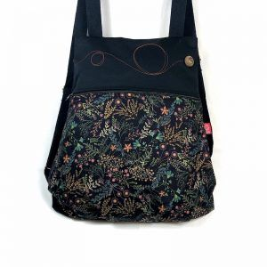 mochila de tela bonita