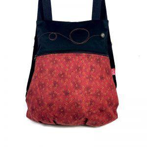 mochila de tela liviana