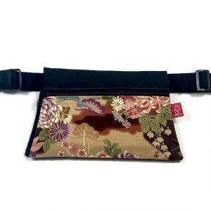 riñonera de tela japonesa
