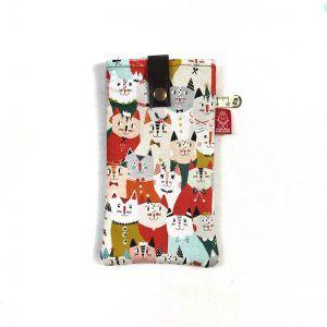Porta gafas gatos handmade