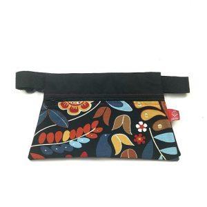 Riñonera de tela estampada femenina hecha a mano La Bicha Creativa
