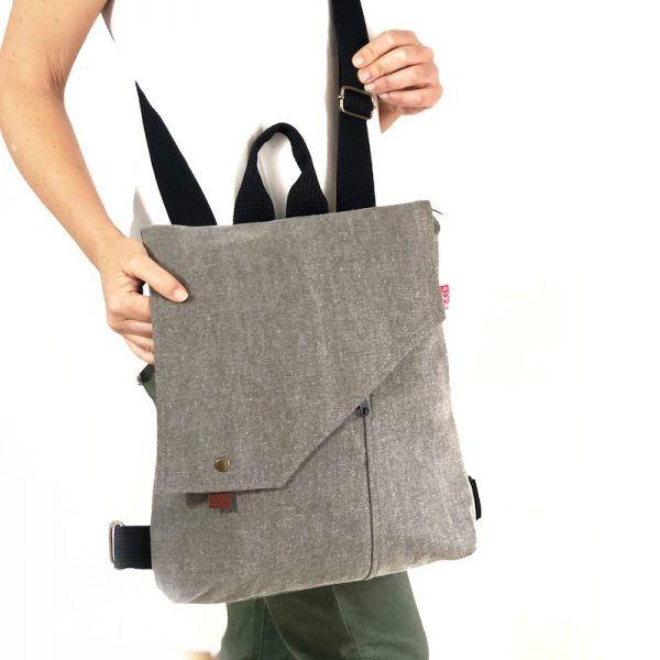 bolso o mochila de tela