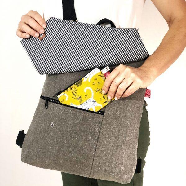 mochila de diseño handmade