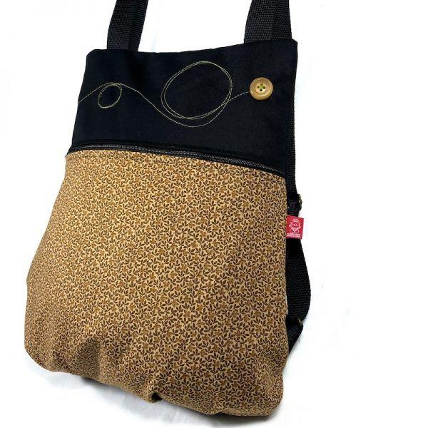 mochila de moda otoño vista