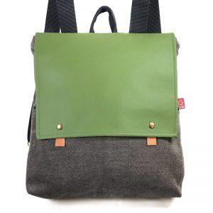 mochila de moda sostenible Trash