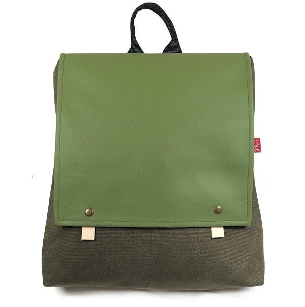 mochila de moda sostenible hecha a mano Trash