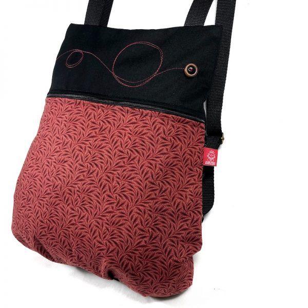 mochila de mujer linda vista