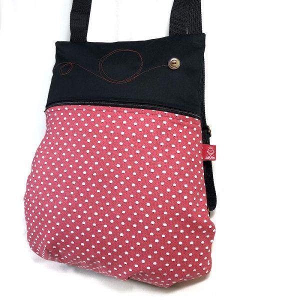 mochila de tela algodón vista