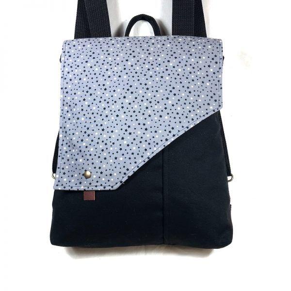 mochila de tela estrellas
