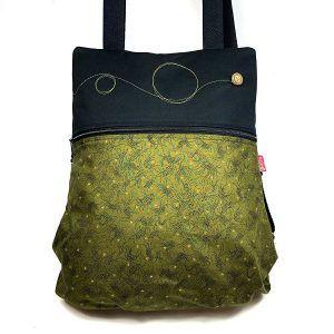 mochila de tela sostenible hecha a mano Lara