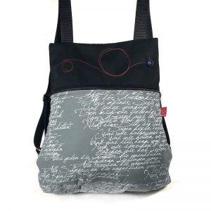 mochila elegante de tela