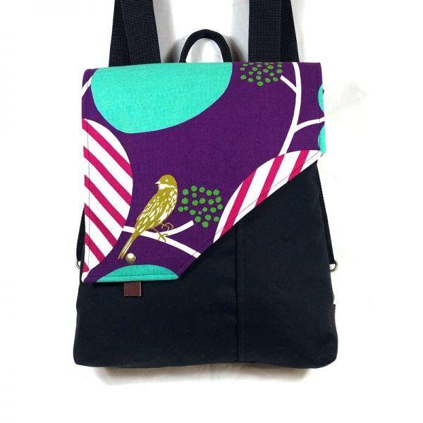 mochila femenina de tela