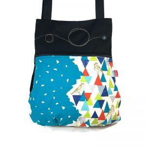 mochila handmade de tela