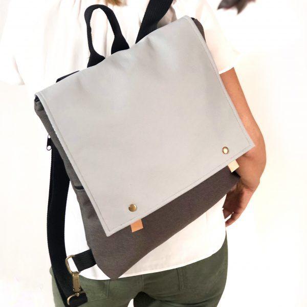 mochila handmade moda sostenible