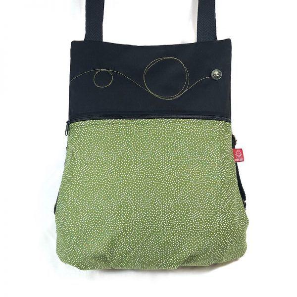 mochila hecha a mano topos
