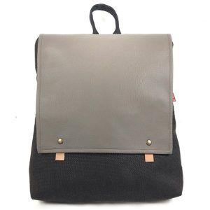 mochila hecha con tela reciclada Sow