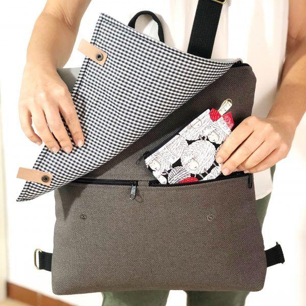 mochila minimalista para mujer
