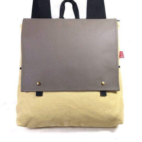 mochila sostenible de moda-bio