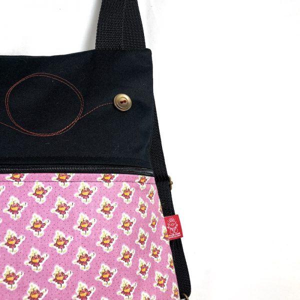 mochila tela handmade mb028 detalle