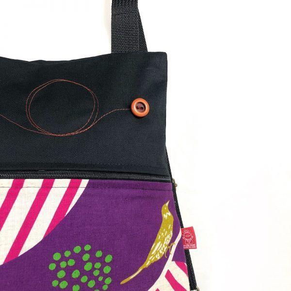 mochila tela handmade mb050 detalle