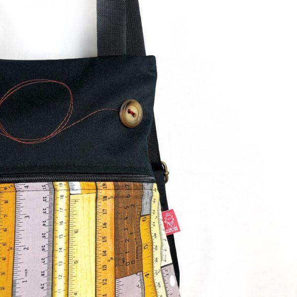 mochila tela handmade mbc01 detalle