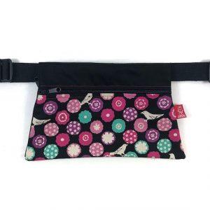 riñonera de tela japonesa grande