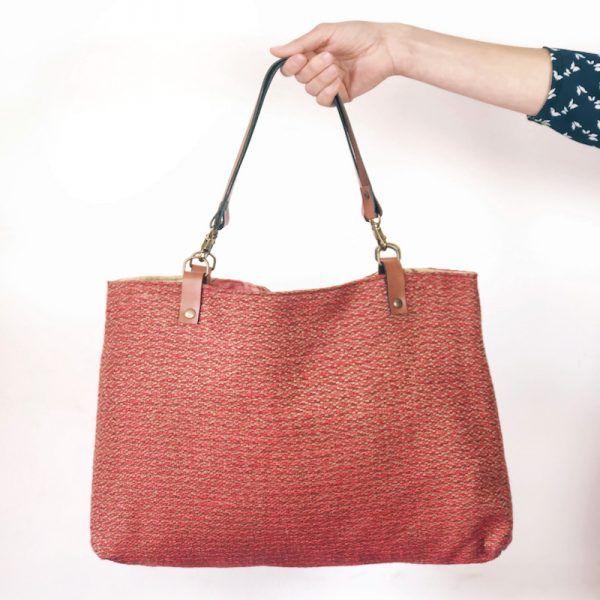 Tote bag de moda femenina hecho a mano