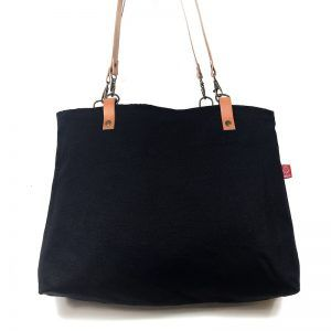 Tote bag en tela reversible