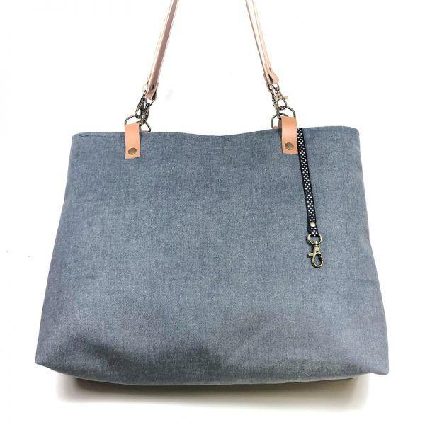 Tote bag femenina hecha a mano