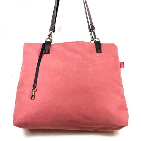 Tote bag hecha en tela Rose